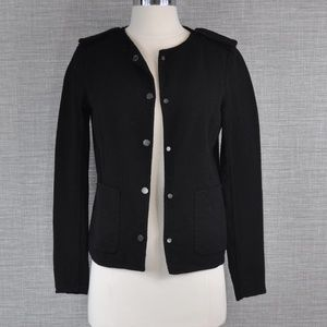 VInce Black Wool Blazer - 2